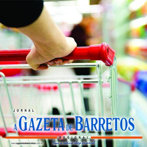 BARRETOS: Homem é preso furtando lata de pinga e chocolates em supermercado