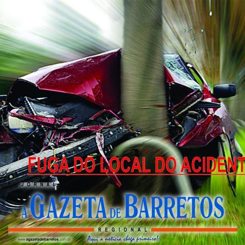 BARRETOS: Fuga do local de acidente no centro da cidade