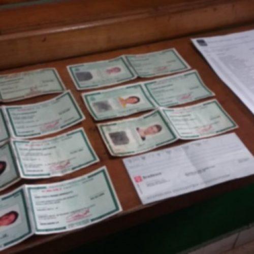 REGIÃO: Jovem é preso por suspeita de estelionato ao ser flagrado com diferentes RGs