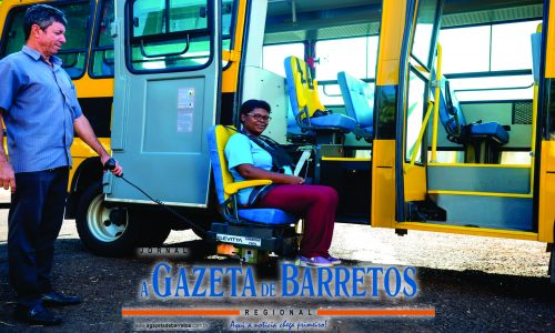 BARRETOS: Recebe mais um ônibus para o transporte de estudantes