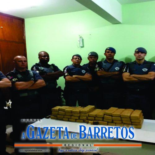 BARRETOS: Policia localiza e apreende 30 quilos de maconha que estavam enterradas