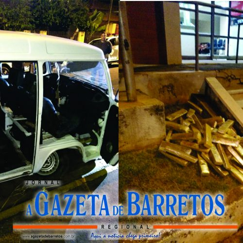 BARRETOS: Policia Rodoviária prende musico transportando mais de 200 quilos de maconha e um quilo de haxixe em Kombi