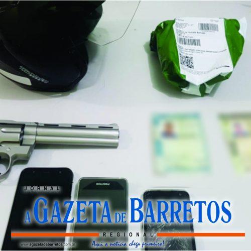 BARRETOS: ROCAM E Canil prendem irmãos e recuperam moto roubado