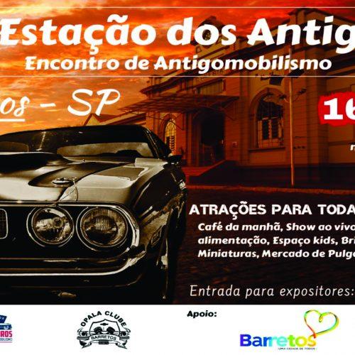 BARRETOS: Estação dos Antigos acontece dia 16 de junho