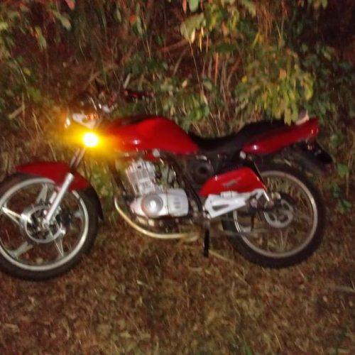 SEVERÍNIA: Morador de Cajobi cai com moto em estrada e se fere gravemente