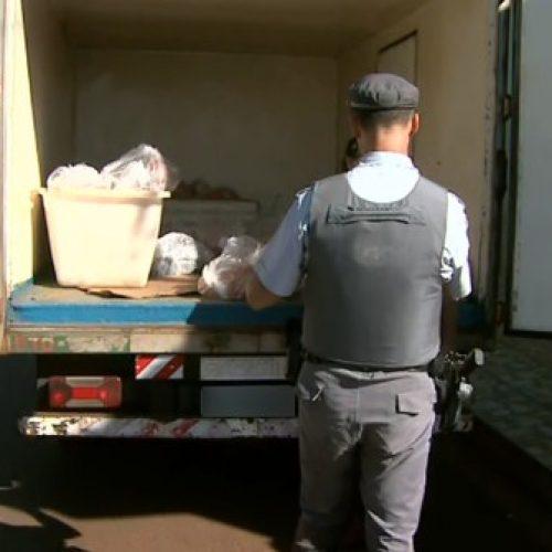 REGIÃO: Carga de carnes roubada de caminhão frigorífico é encontrada em distribuidora