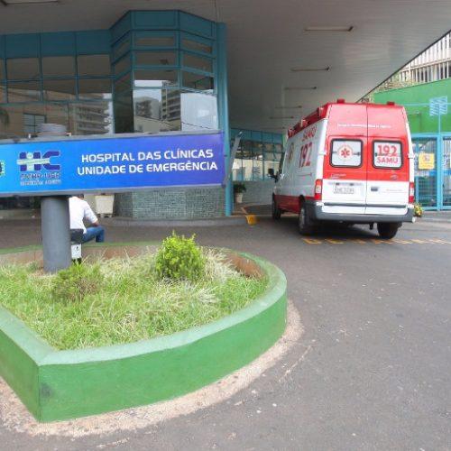 REGIÃO: Paciente de hospital psiquiátrico é internado no HC após arrancar os próprios olhos