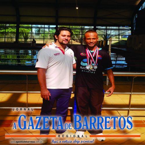 BARRETOS: Caio César conquista três medalhas na natação