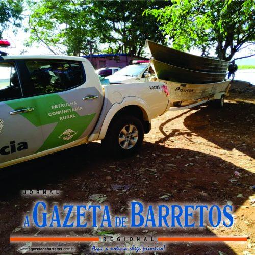 COLÔMBIA: Polícia Ambiental apreende embarcações, 40 redes de pesca e peixes durante fiscalização no Rio Grande