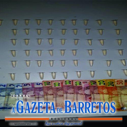 BARRETOS: Canil prende rapaz traficando drogas no bairro Santana