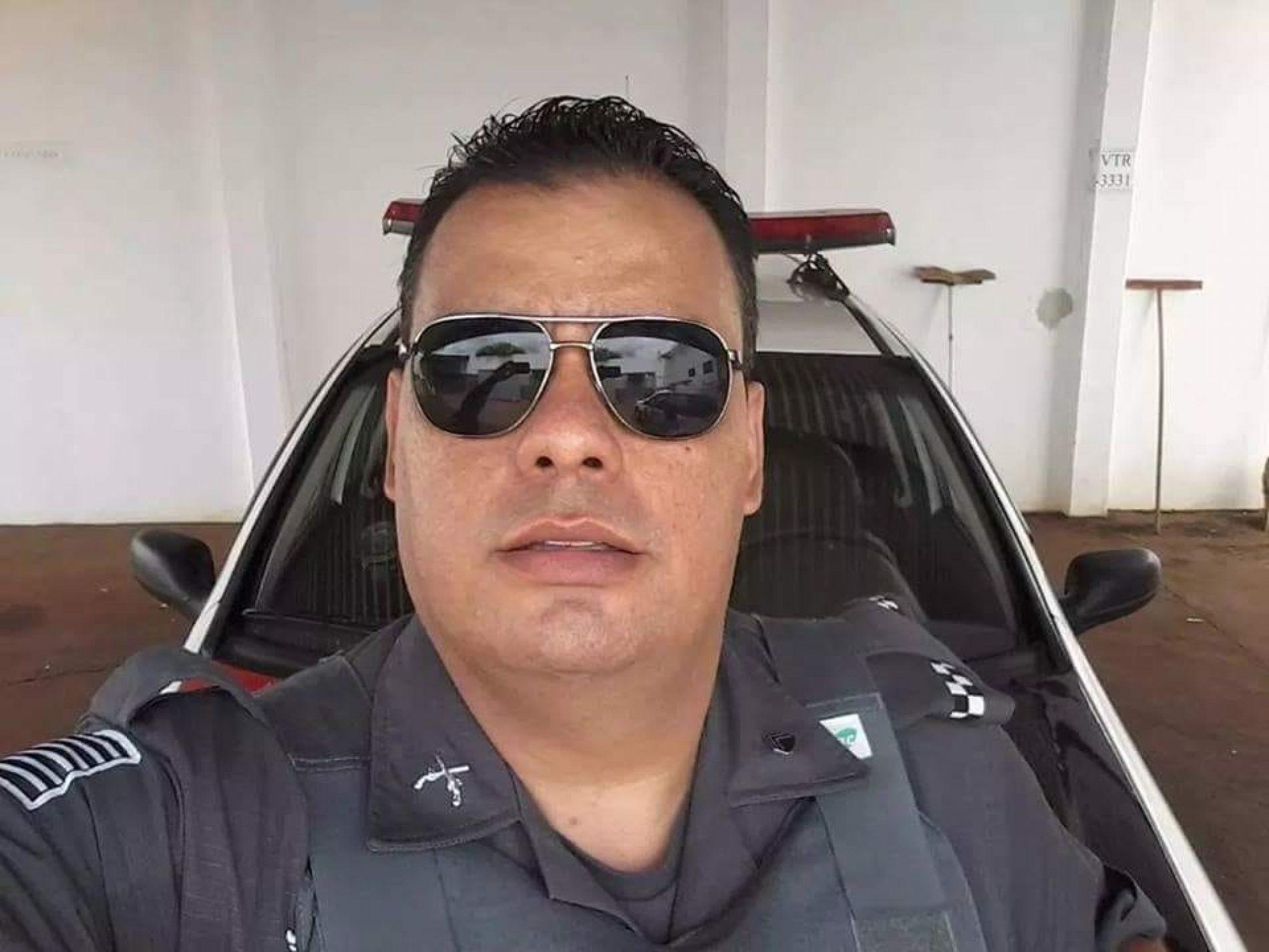 TERRA ROXA: PM barretense morre em colisão entre carro e motoniveladora em estrada vicinal