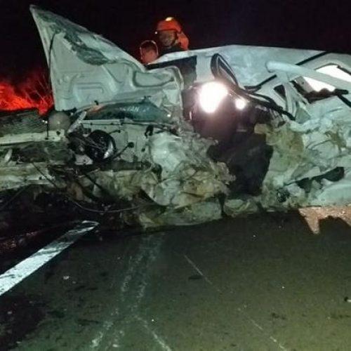 ALTAIR: Grave acidente mata jovem de 21 anos e fere mais três – duas delas gravemente