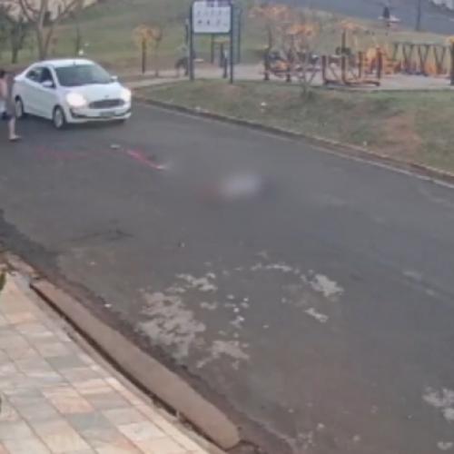 REGIÃO: Menino é atropelado ao tentar atravessar rua enquanto soltava pipa