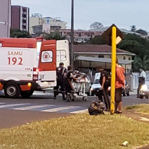 REGIÃO: Homem é atropelado na faixa de pedestre