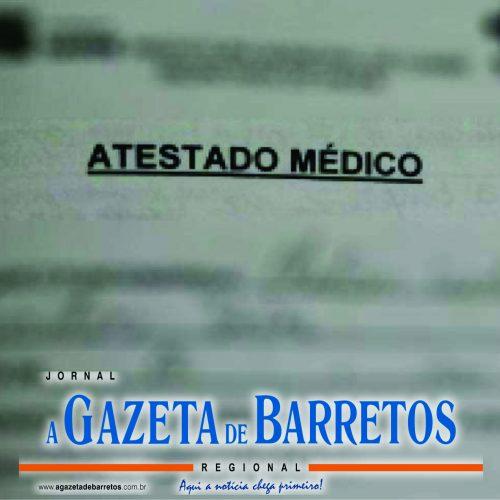 BARRETOS: Médica denúncia garçom por falsificar atestados