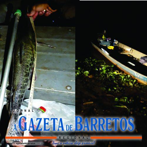 COLÔMBIA: Operação Independência: Policiais Ambientais flagram homens pescando ilegalmente