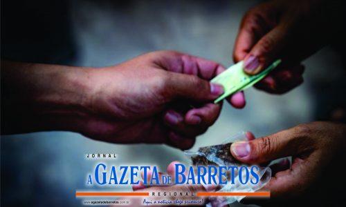 BARRETOS: Auxiliar de mecânico é preso por tráfico de drogas