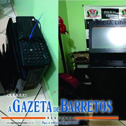 BARRETOS: Investigadores apreendem máquinas de jogos de azar no bairro Baroni