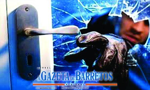 BARRETOS: Ladrão arromba residência e furta dois aparelhos de televisão
