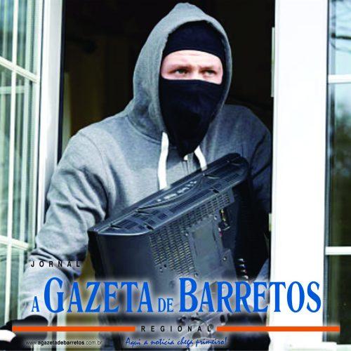 BARRETOS: Furto de televisor em residência no bairro San Diego
