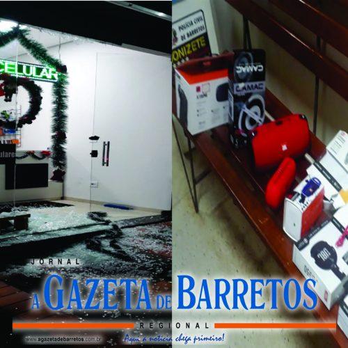 OLÍMPIA: Casal é preso após danificar e furtar loja no centro