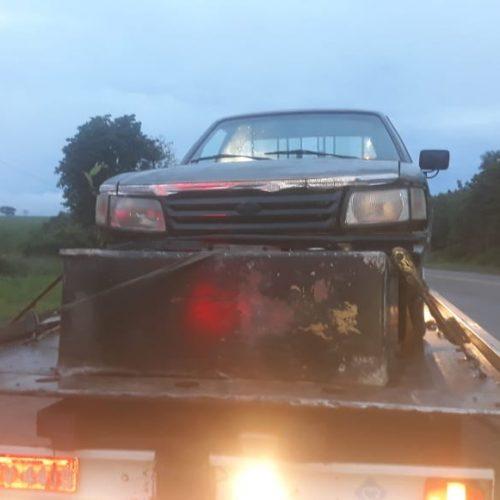OLÍMPIA: Ladrões roubam cofre em posto de combustíveis e são baleados e presos pela polícia
