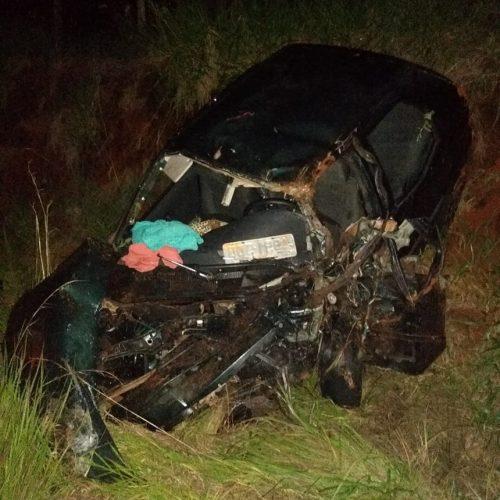 OLÍMPIA: Acidente entre três carros deixa mortos e feridos na rodovia Assis Chateaubriand