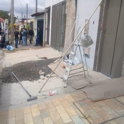 REGIÃO: Pintor morre eletrocutado ao fazer serviço em construção