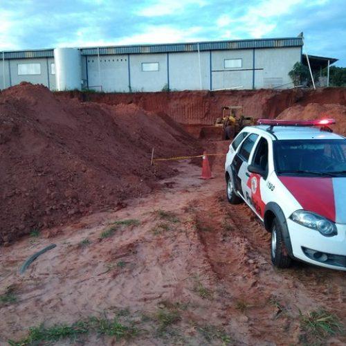 REGIÃO: Homem morre soterrado em obra de construção