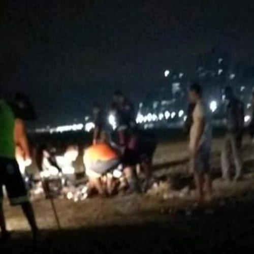 PRAIA GRANDE: Homem é atropelado por trator na praia
