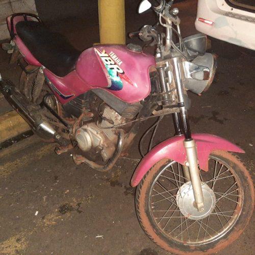 BARRETOS: Apreensão de motocicelta furtada