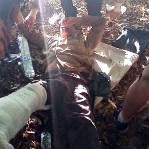 REGIÃO: Pedreiro é achado ferido por armadilha de caça 2 dias após desaparecer