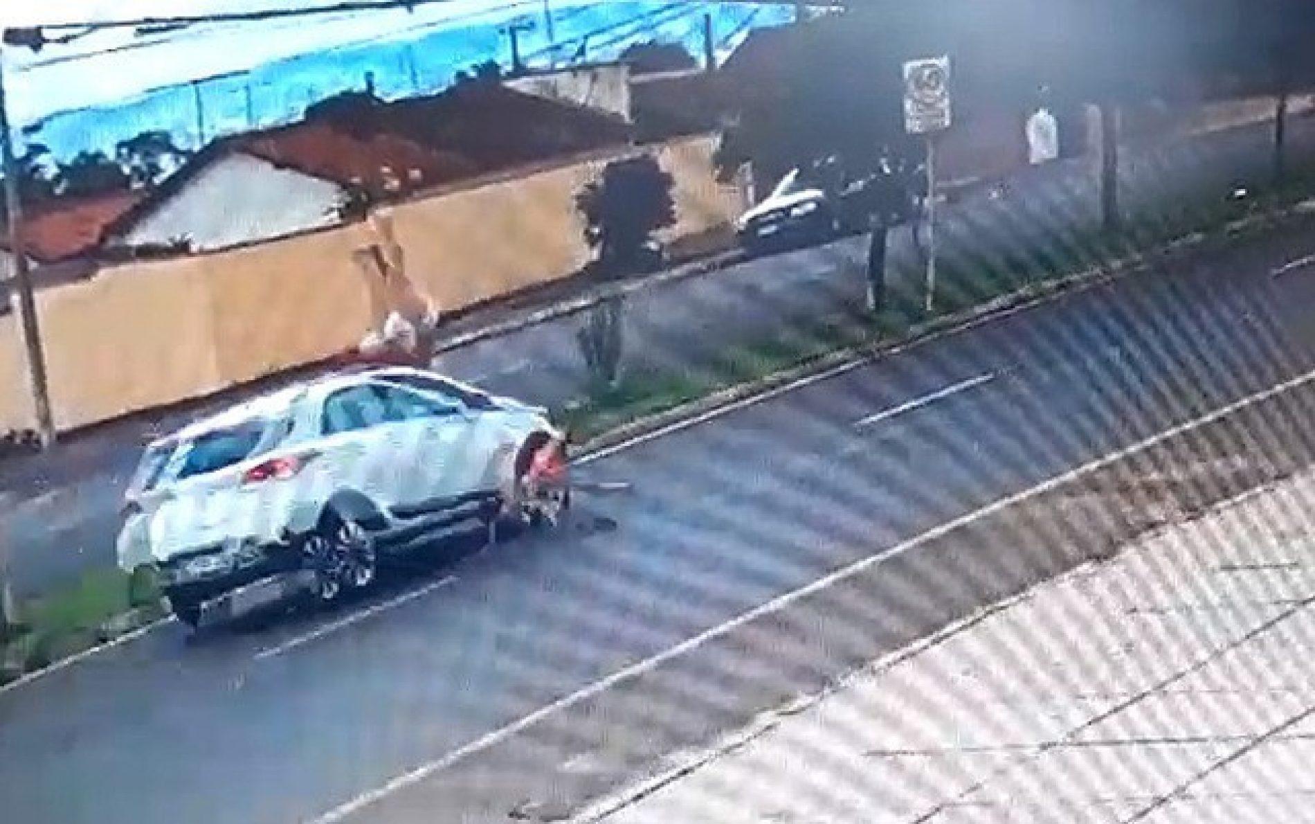 REGIÃO: Idosa atropelada pela manhã tem quadro de saúde estável