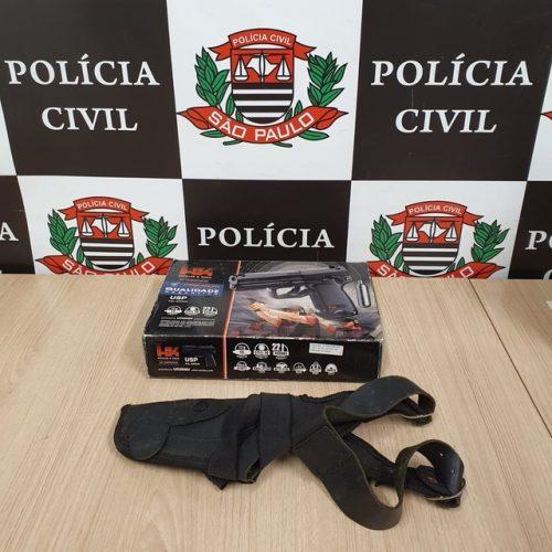 REGIÃO: Homem é preso suspeito de se passar por investigador da Polícia Civil e extorquir comerciantes
