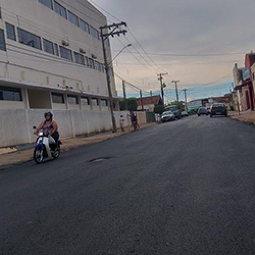 BARRETOS: Prefeitura conclui recapeamento em vias do Bairro Bela Vista