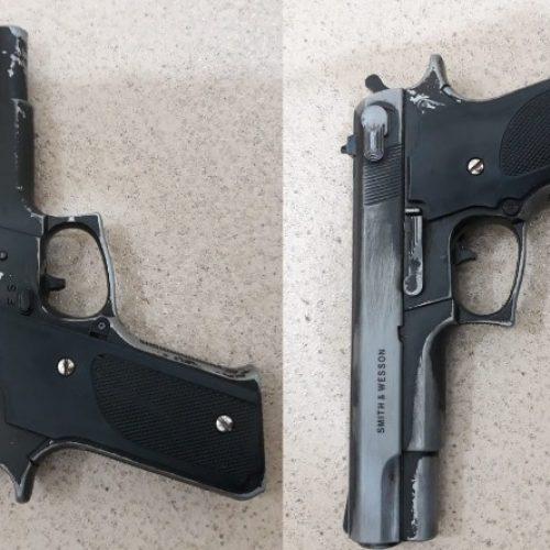 REGIÃO: PM prende garoto de 15 anos com arma de brinquedo
