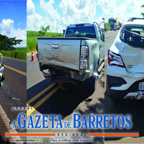 BARRETOS: Acidentes na rodovia Assis Chateaubriand