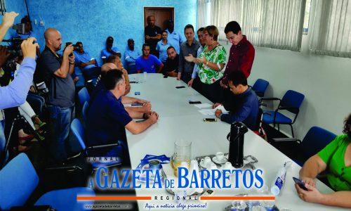 BARRETOS:  Deputados Roberto de Lucena(PODEMOS) e Sebastião dos Santos(REPUBLICANOS) Libera emenda para construção de reservatório de água na Região Norte