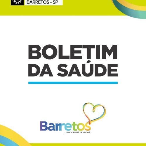 BARRETOS: BOLETIM 30/03 – COVID19