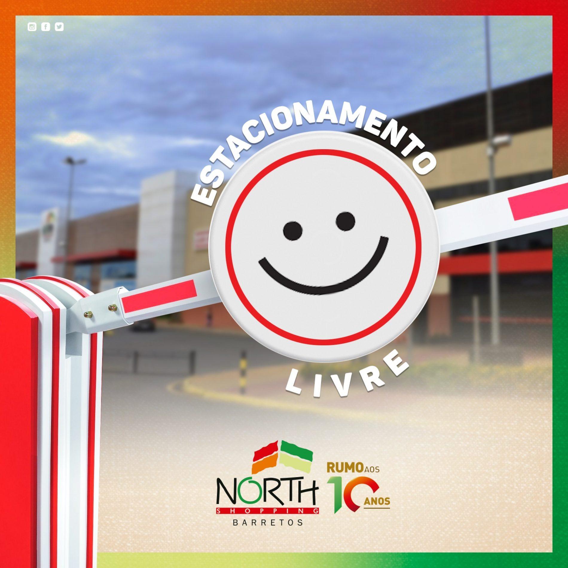BARRETOS: Estacionamento do North Shopping está liberado gratuitamente durante quarentena
