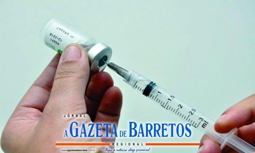 BARRETOS: Aplica seis mil doses da vacina da gripe em um único dia e zera estoque