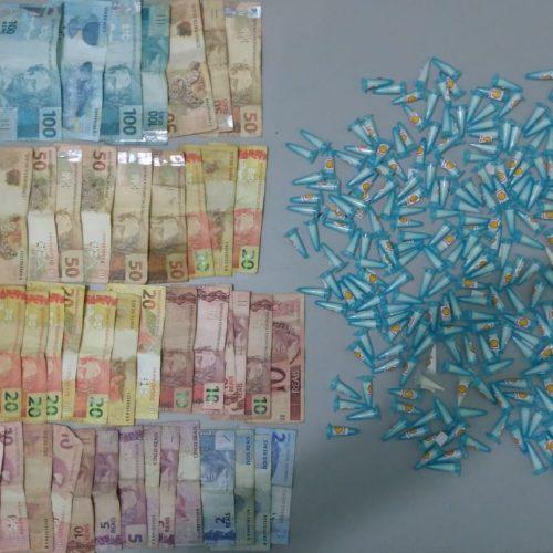 """BARRETOS: Autônomo é preso com dinheiro e quase meio quilo de cocaína na """"Matinha do Barretos II"""""""