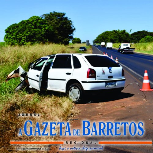 COLÔMBIA: Mulher fica gravemente ferida em acidente da Rodovia Brigadeiro Faria Lima