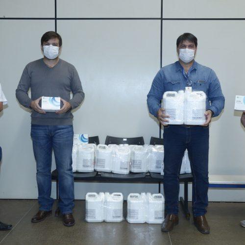 BARRETOS: Testes rápidos e produtos de desinfecção são doados para Prefeitura