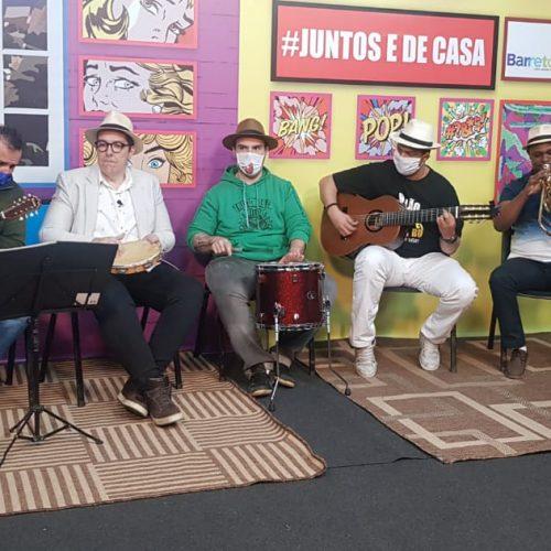 """BARRETOS: Programa de TV """"Juntos e de Casa"""" reúne material produzido pela cultura municipal"""