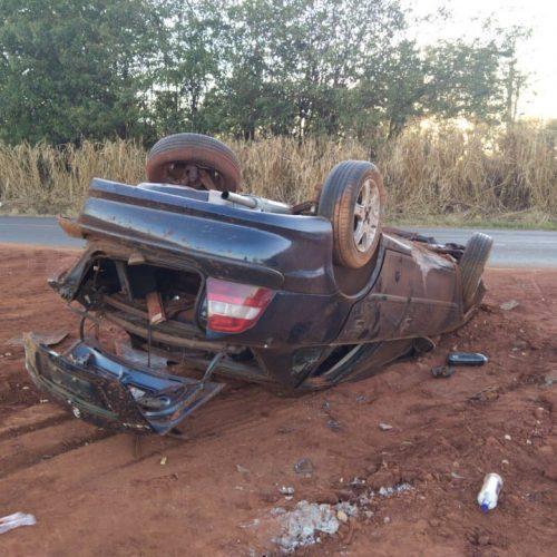 BARRETOS: Jovem morre em capotamento de veículo na Vicinal Luís Carlos Arutim