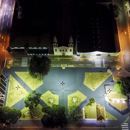 BARRETOS: Praça do Bom Jesus está reformada e revitalizada