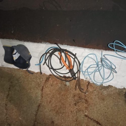 BARRETOS: Desempregado é preso em flagrante furtando fios de cobre em prédio na área central