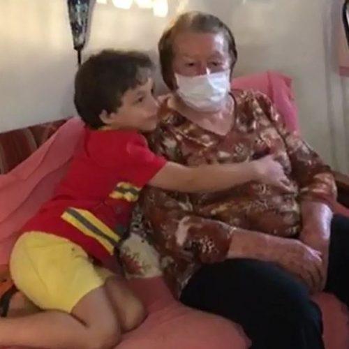 REGIÃO: Idosa é salva por bisneto de 5 anos após passar mal do coração
