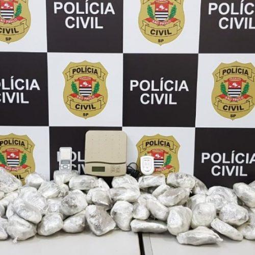 REGIÃO: Polícia encontra quase 40 kg de maconha em casa